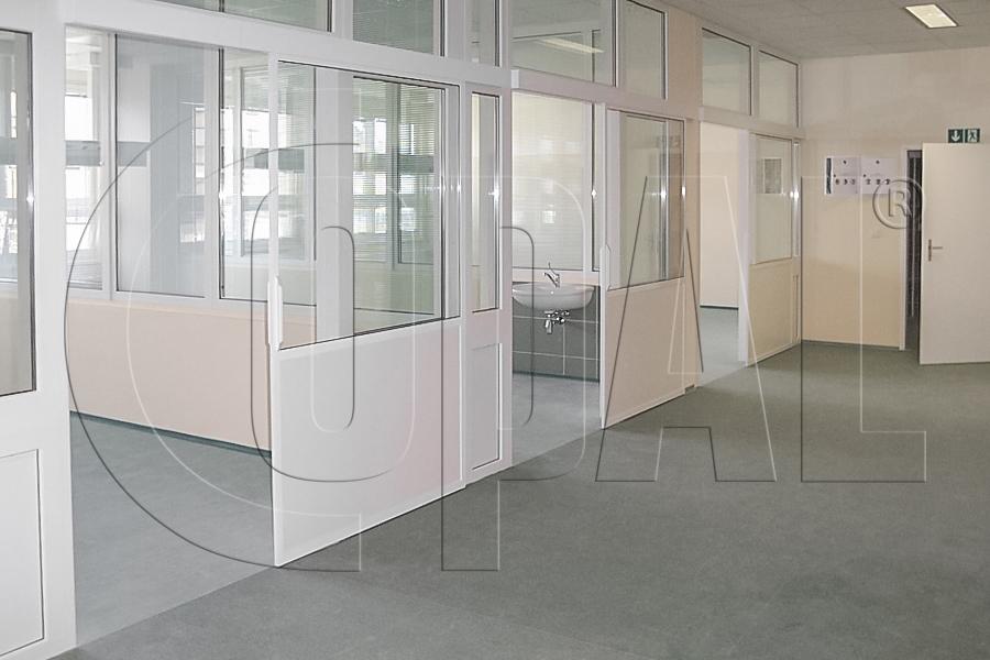 Nowoczesna architektura Szklane ścianki działowe i przegrody balkonowe - producent COPAL VI77
