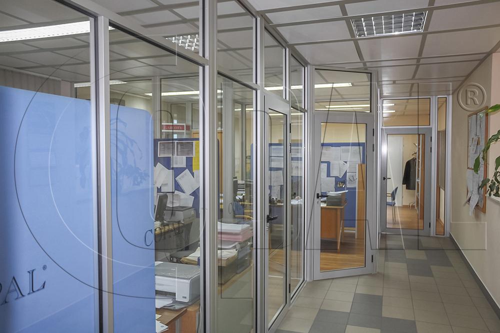 Dodatkowe Szklane ścianki działowe i przegrody balkonowe - producent COPAL YV55