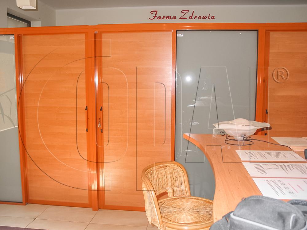 W Mega Szklane ścianki działowe i przegrody balkonowe - producent COPAL HO59