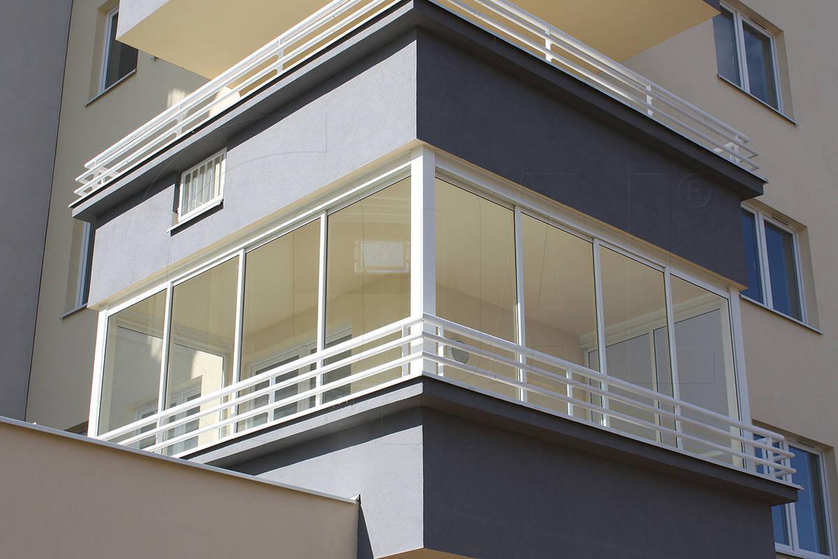 Укрфасадбуд - раздвижная система alt100 для балконов, беседо.